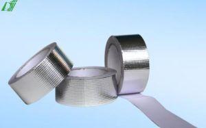 Blue Alum. -Tejido de vidrio de la cinta Duct Tape, cinta de aluminio azul