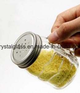[فلفوور] مستديرة مصغّرة مرطبان زجاجيّة مع رجّاجة غطاء