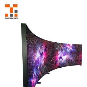 Van de Textiel LEIDENE van het Frame van het aluminium LEIDENE van de Vertoning van de Reclame van Frameless van de Stof Doos van de Verlichting Backlit Lichte Doos