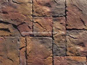 Китай искусственного культуры камня стены оформлены цементные плитки