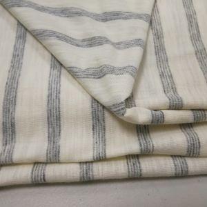 254b7fc16 100% de tecido de algodão Slub Jersey Tricot camisola T –100% de ...