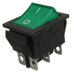 Gran Ola de 4 polos de poder aparato con interruptor de luz