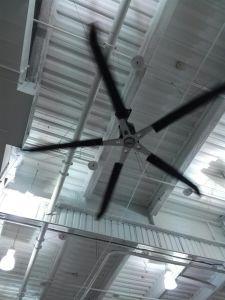 Prüfender industrieller Gleichstrom-Ventilator