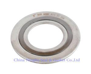 Cg espiral de la junta de la herida con CS o 304ss 316ss el anillo exterior