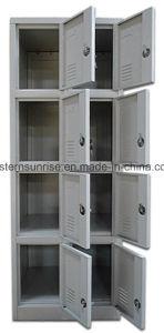 Kleedkamer/Badkamers 8 de Kast/de Garderobe/het Kabinet van het Ijzer van het Staal van het Metaal van de Deur