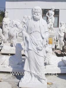 A escultura de pedra romana (escultura-111)