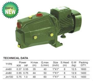 CE Self-Priming professionnels approuvés (JM) de pompe à eau