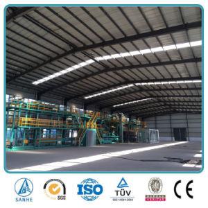 Structure en acier de grande portée à un prix abordable les préfabriqués hangars de stockage de design industriel