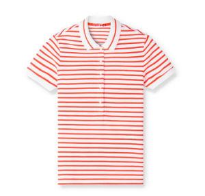 06d61e4109 Venda por grosso Fashion mulheres camisas polo às riscas uniforme ...