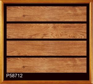 Hot vender rústico piso de cerámica esmaltada baldosas de madera