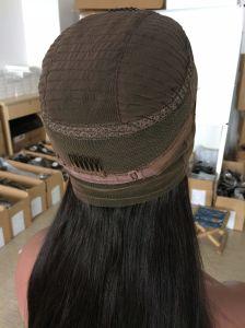Quente! ! ! Em estoque virgem brasileira de Alta Densidade de cabelo humano 360 Rendas Peruca