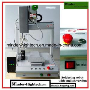Машина MD-Dh-T54411 робота польностью английского варианта автоматическая паяя