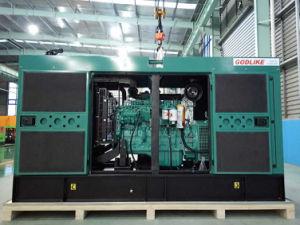 3 generatore diesel silenzioso eccellente di fase 90kw Cummins (GDC113*S)