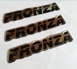 Resistente a UV Dome de PU personalizadas da etiqueta do logotipo Crystal & Autocolante com 3m Cola Forte