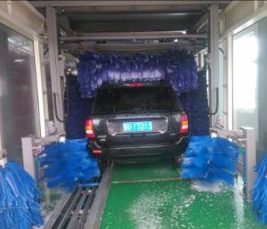 Lavage de voiture de haute technologie de la machine automatique de la rondelle de voiture du Tunnel en acier inoxydable