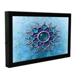 선수를 광고하는 디지털 방식으로 LCD를 거치하는 22 인치 벽