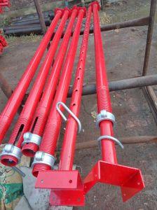 El apoyo de la construcción andamios Acrow apuntalamientos prop.