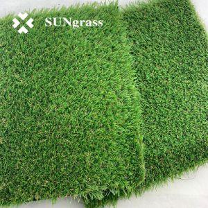 C-Shape 20mm 4 tons de relva sintética de relva artificial Jardim grama para decoração