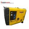 ISO9001 1.9-12kVA BV는 공기에 의하여 냉각된 디젤 엔진 침묵하는 Genset를 승인했다