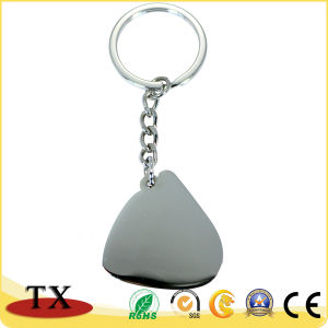Förderndes Geschenk, das kundenspezifische Schlüsselkette bunt und geschnitzt worden sein würden