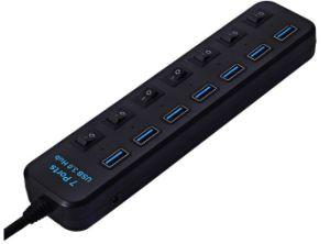 Ce сертификации RoHS 7 портов USB 3.0 интерфейс концентратора USB 3.0