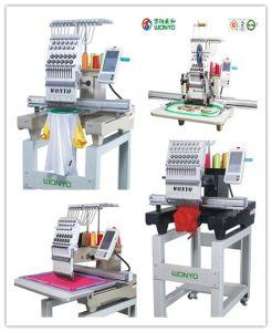 1台のヘッドコンピュータの刺繍機械、帽子の刺繍、Tシャツの刺繍および刺繍の中国の平らな価格