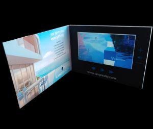 7inch LCD Van het Bedrijfs scherm VideoBrochure