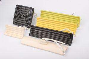 piatto di ceramica infrarosso del riscaldatore della termocoppia di 245X60mm J