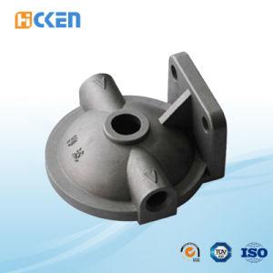 Kundenspezifisches Stahlpräzisions-Eisen-Gussteil der Aluminiumlegierung-Unterseite