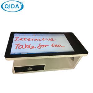 2018 Fußboden-Standplatz-Bildschirm-Kiosk mit Fingerabdruck-Barcode-Leser