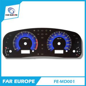 Fe-MD001 2D 2D personalizadas Dashboard velocímetro para Coche Universal