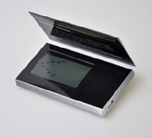 LCD van 2.4 Duim Druk van de Brochure van het Scherm de Video