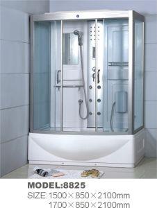 Espléndido armario de ducha rectangular con un amplio espacio (8825)