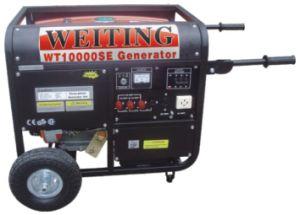 beweglicher Generator des Benzin-10kVA (WT10000SE)