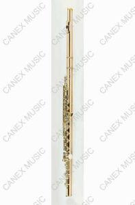 Flute d'or 14k / flûte professionnelle 18 trous (FL181KE)
