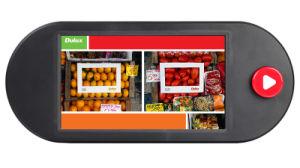 9 polegadas LCD POS Bateria Store Leitor de vídeo