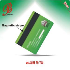 Carte à puce brillant de haute qualité avec une bande magnétique