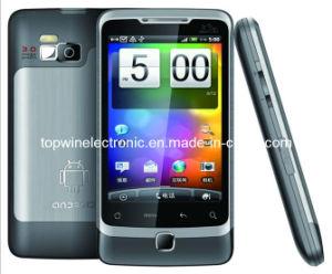 A5000 telefono mobile doppio della Quadrato-Fascia TV GPS di Sims del Android 2.2