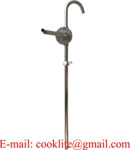 Pompa verticale del timpano della mano dell'elevatore dell'acciaio inossidabile 316 per il trasferimento dei prodotti chimici aggressivi