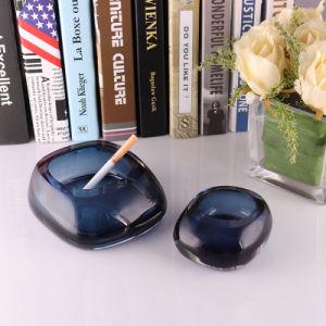 Heißer Verkaufs-preiswerte Kristallglas-Aschenbecher-Fertigkeit