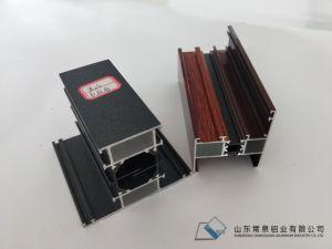 Kundenspezifisches verdrängtes Aluminiumprofil der Puder beschichteten Türen und des Windows