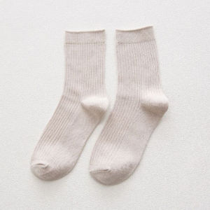 Bolsa de algodón de alta calidad de la escuela de la banda joven calcetines