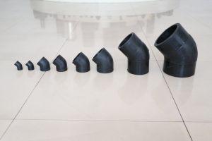 Socket Fusion Codo de 45 grados los racores de PE