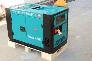 10квт тип Water-Cooled портативный дизельный генератор