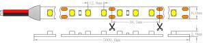 ULのセリウム4.8W 2835 CRI90 IP20 3000K適用範囲が広いLEDの棒状螢光灯による照明