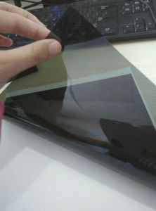 Ventana Solar Tinting Anti Scratch 1 capas de película de la ventana de coche