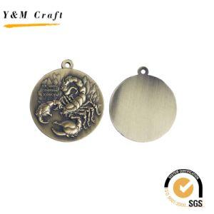 カスタマイズされたロゴの彫版が付いている2016の金属のスポーツ会合の締縄メダル