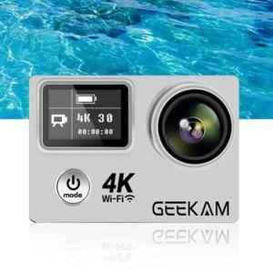 K9X 4K de la acción de vídeo HD impermeable deporte oculto la acción de leva cámara digital