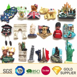 Dibujos animados en 3D personalizadas Goma PVC Nevera de metal magnéticos de lata de hojalata de resina de plástico de fibra de vidrio epoxi Polyresin acrílico imán de nevera para regalos de recuerdo para turistas