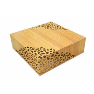 배기판 패턴 9241를 가진 대나무 가구 레이스 커피용 탁자